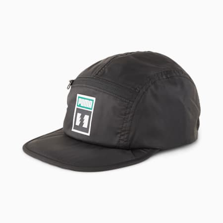 Cappellino PUMA x THE HUNDREDS ripiegabile, Puma Black, small