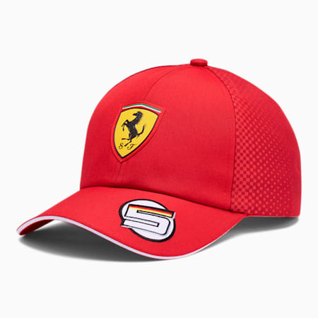 Scuderia Ferrari Vettel Cap, Rosso Corsa, small
