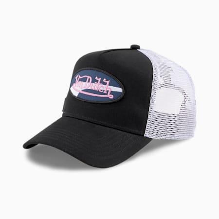 PUMA x VON DUTCH Trucker Cap, Puma Black, small-SEA