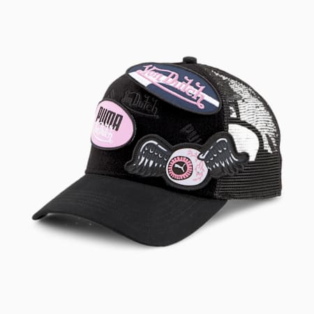 PUMA x VON DUTCH Swop Cap, Puma Black, small