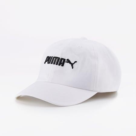 Essentials No. 2 Logo Cap, Puma White, small-SEA
