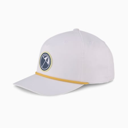 PUMA x ARNOLD PALMER Rope 110 Snapback Men's Golf Cap, Bright White, small