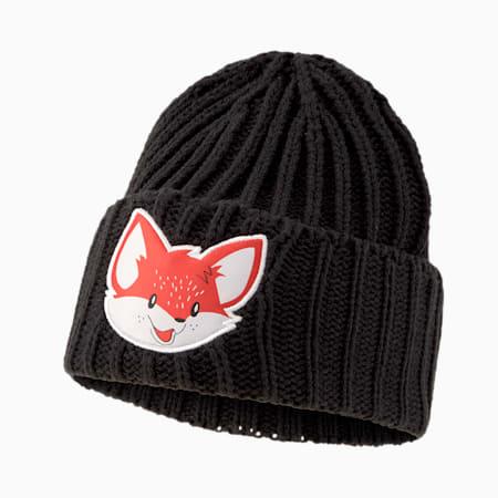 Animal Kids' Beanie, Puma Black-fox, small