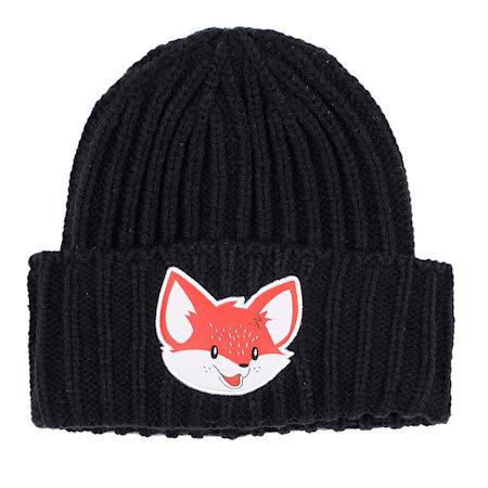 Animal Kids' Beanie, Puma Black-fox, small-IND