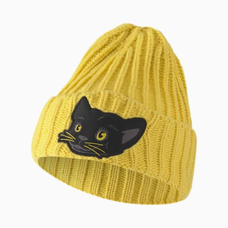 Animal Kids' Beanie, Super Lemon-panther, small