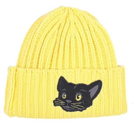 Animal Kids' Beanie, Super Lemon-panther, small-IND