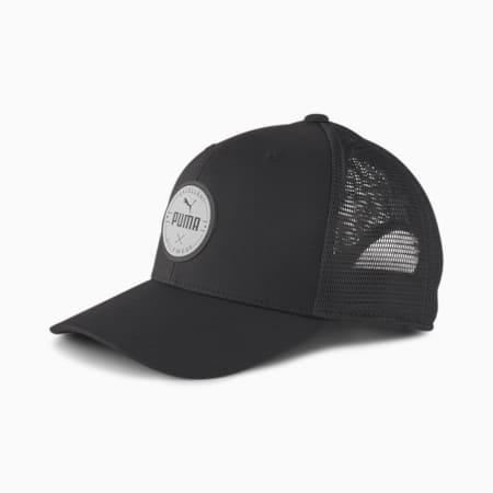 PUMA Golf Wear Circle Patch cap, Puma Black, small-SEA
