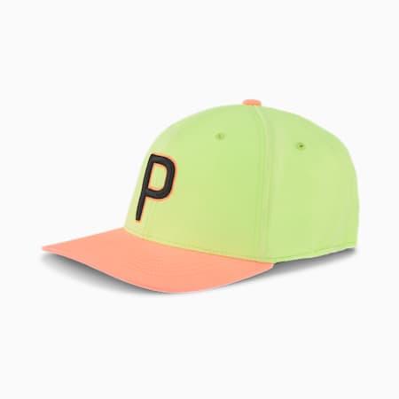 ゴルフ OSG スナップバック キャップ, Fizzy Yellow-Nrgy Peach, small-JPN
