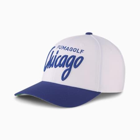 ゴルフ シカゴ シティ スナップバック キャップ, Bright White, small-JPN