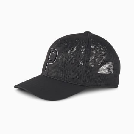 브리져 P 110 스냅백 캡, Puma Black, small-KOR