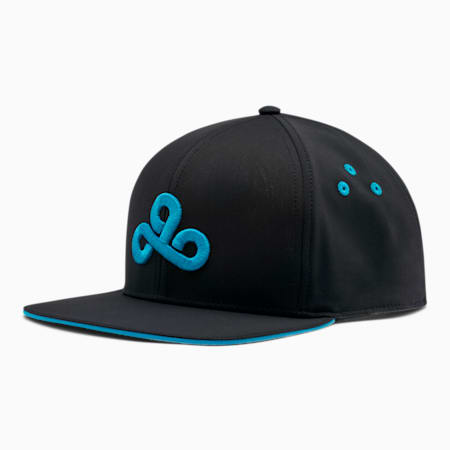 PUMA x CLOUD9 Snapback, Puma Black-Hawaiian Ocean, small