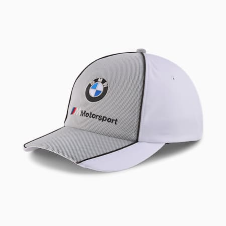 BMW M Motorsport Baseball Cap, Puma White, small