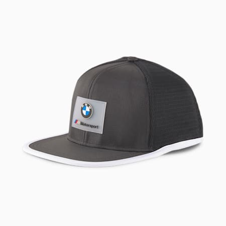 BMW M Motorsport Flat Brim Cap, Puma Black, small-GBR