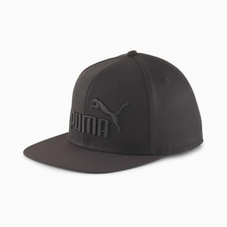 Flat Brim Cap, Puma Black, small-GBR