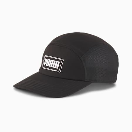 Five-Panel Cap, Puma Black, small-IND