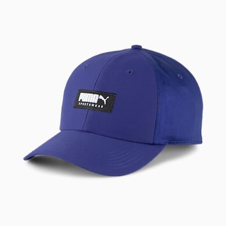 Style Baseball Cap, Elektro Blue, small