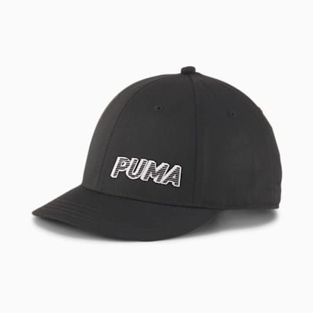 Core Short Visor Cap, Puma Black, small
