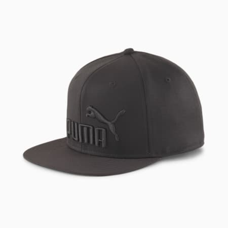 Flat Brim Youth Cap, Puma Black, small-SEA