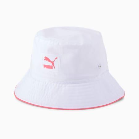아카이브 버킷 햇/ARCHIVE Bucket Hat, Puma White, small-KOR
