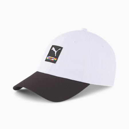 PUMA International Cap, Puma White-Puma Black, small