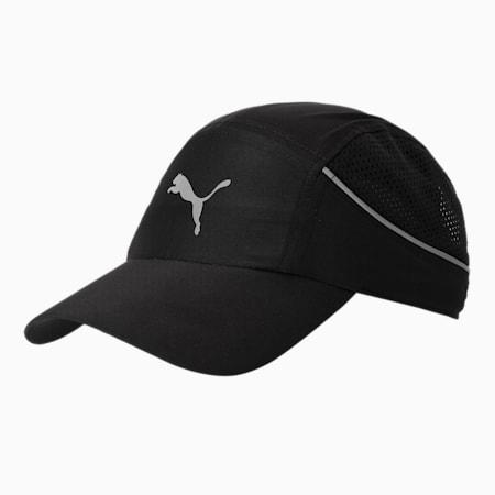 Lightweight Unisex Running Cap, Puma Black, small-IND