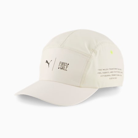 PUMA x FIRST MILE Training Cap, Eggnog, small