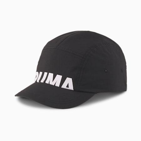 Short Visor Cap, Puma Black, small