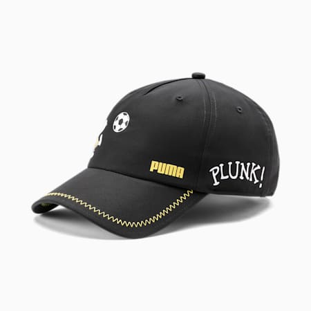 PUMA x PEANUTS Youth Baseball Cap, Puma Black, small-SEA