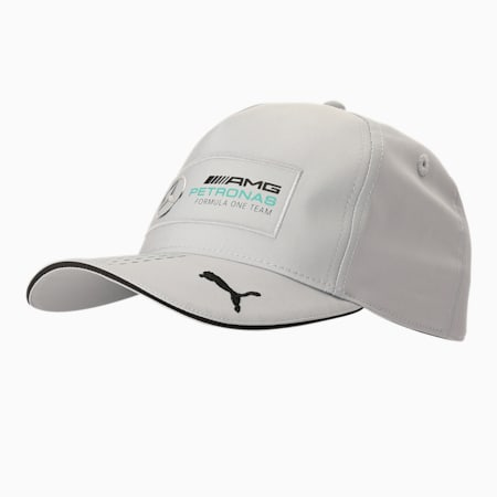 Mercedes F1 Baseball Cap, Mercedes Team Silver, small-IND