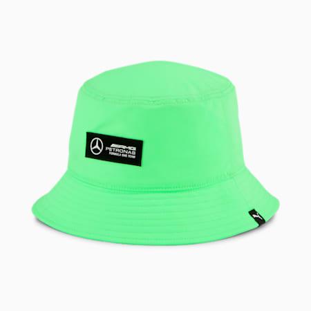 Mercedes F1 Bucket Hat, Elektro Green, small-GBR