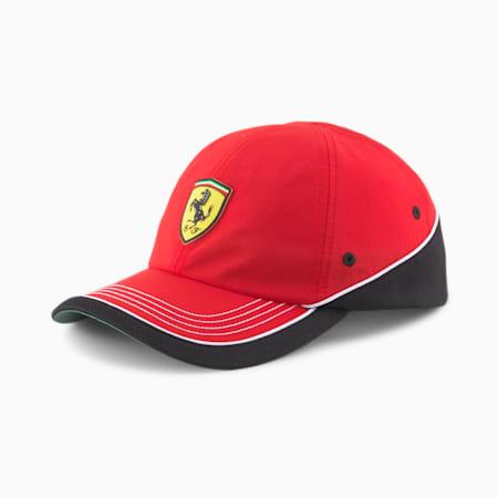 Scuderia Ferrari Baseball Cap, Rosso Corsa, small