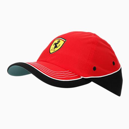 Scuderia Ferrari Baseball Cap, Rosso Corsa, small-IND