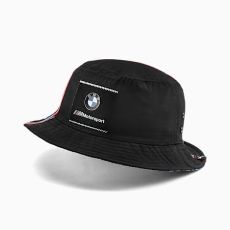 BMW M Motorsport Bucket Hat, Puma Black, small-SEA