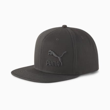 Lifestyle Colorblock Cap, Puma Black, small-GBR