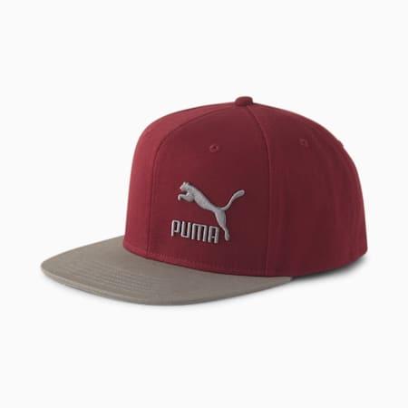 Lifestyle Colorblock Cap, Zinfandel-Ultra Gray, small-SEA