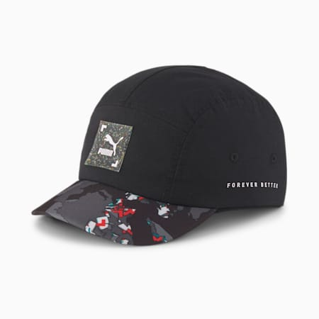 RE.GEN Short Visor Cap, Anthracite, small