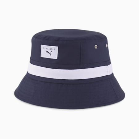Williams Men's Golf Bucket Hat, Navy Blazer, small-GBR