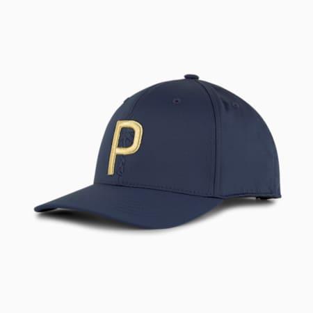 PUMA x PTC P 110 SNAPBACK CAP, Navy Blazer, small