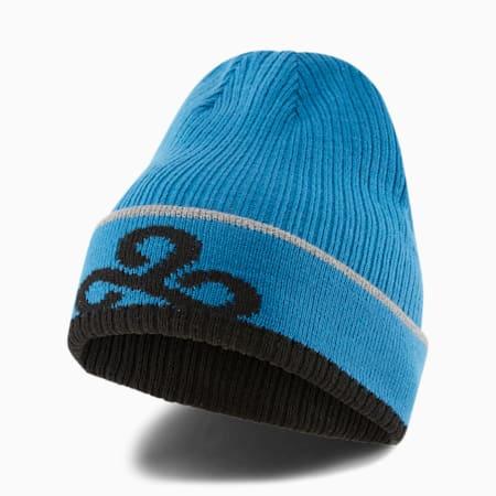 PUMA x CLOUD9 Beanie, Digi-blue, small