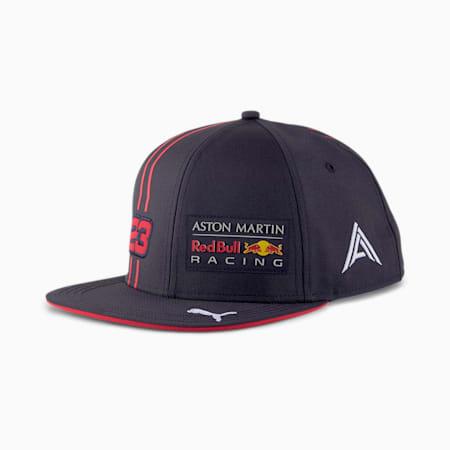 レッドブル AMRBR レプリカ ALEX ALBON ベースボール キャップ, NIGHT SKY-Chinese Red, small-JPN