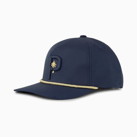 PUMA x PTC ROPE SNAPBACK CAP, Navy Blazer, small