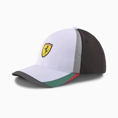 Scuderia Ferrari Baseball Cap, Puma White, small-IND