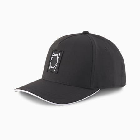 Player Low Curve Basketball Cap, Puma Black, small