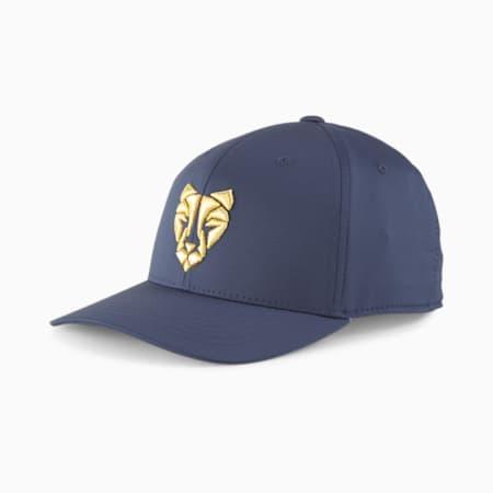 Roar 110 Snapback Men's Golf Cap, Navy Blazer, small-GBR