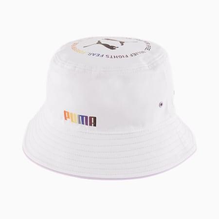 Pride Bucket Hat, Puma White-Light Lavender, small