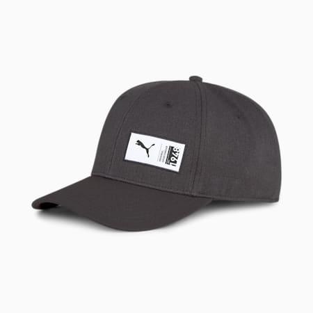 PUMA Style Unisex Cap, Puma Black-Puma Black, small-IND