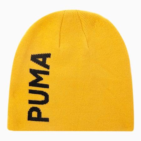 Bonnet Essentials sans revers classique, Jaune minéral-Noir Puma, petit