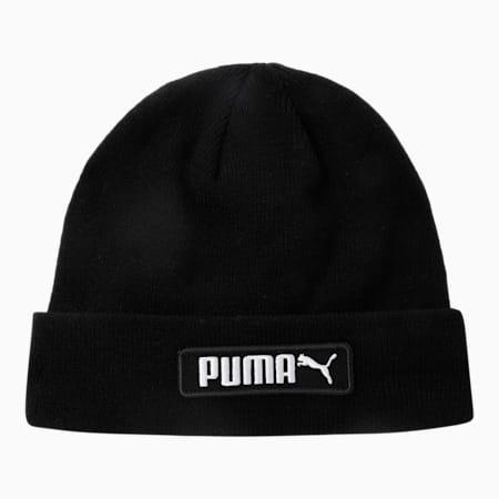 PUMA Classic Unisex Cuff Beanie, Puma Black, small-IND