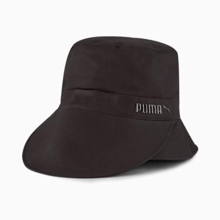Sombrero de pescador con visera para mujer, Puma Black, pequeño