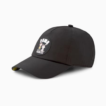 Gorra de béisbolPUMA x PEANUTS para niños, Puma Black, pequeño